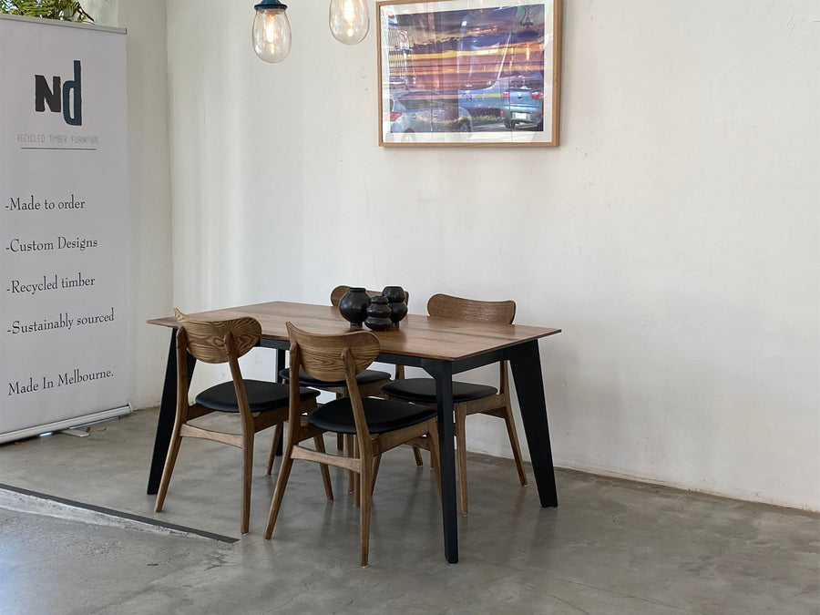 Strider Dining Table | Recycled Stringy Bark
