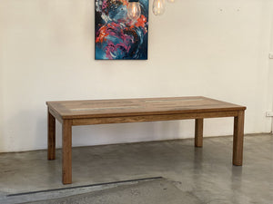 Double Panel Dining Table - ND Furniture