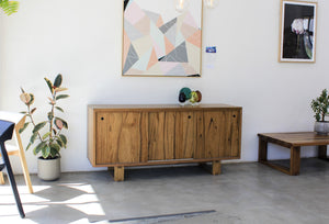 Sideboard with Sliding Doors - ND Furniture