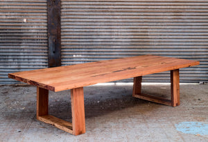 Splayed Heavy Dining Table