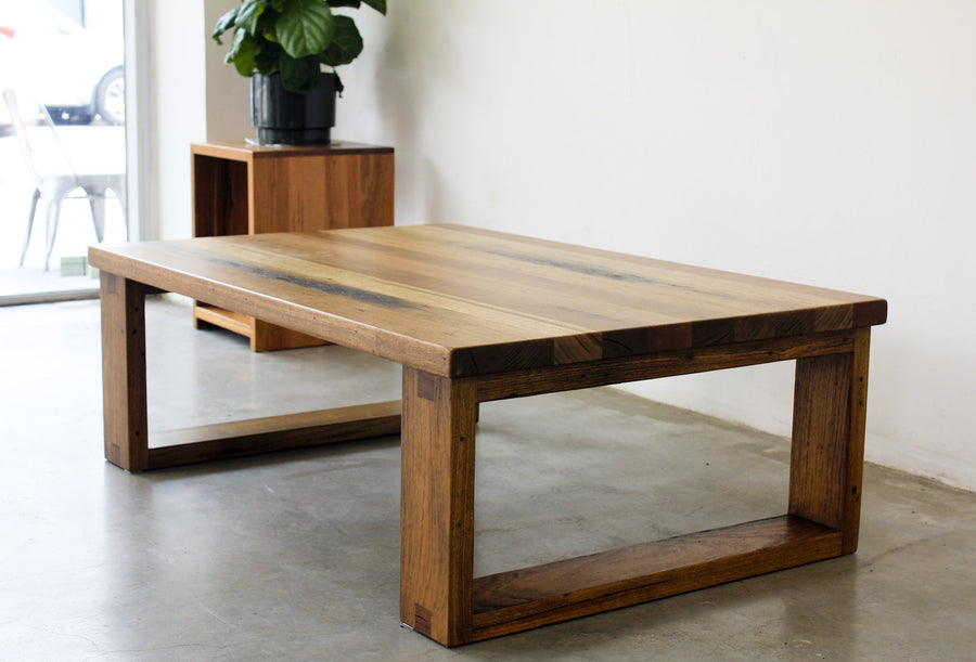 Straight Board Coffee Table