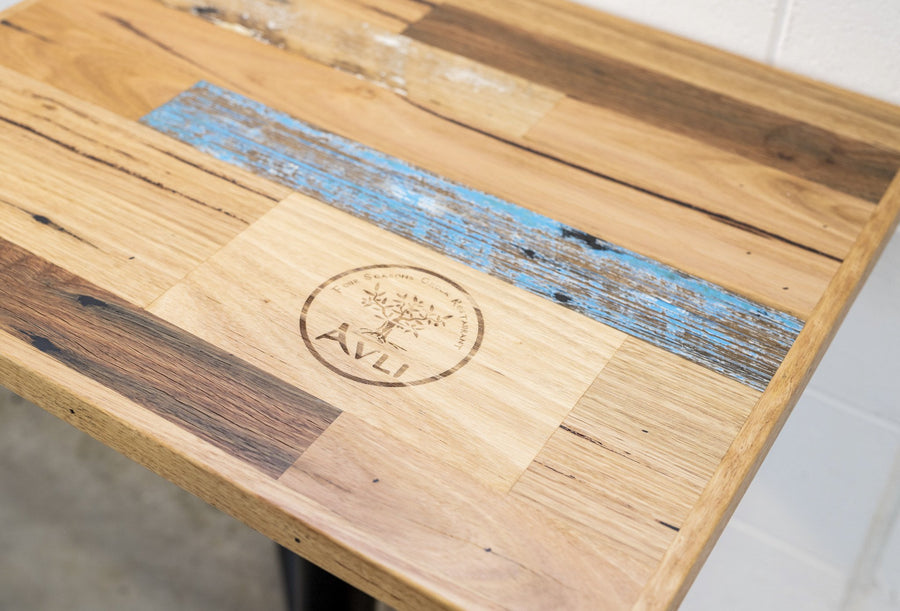 Cafe Table Top Scatter Style with Custom Inlay-Table-ND Furniture