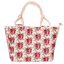 Load image into Gallery viewer, 2019 Fashion Folding Women Big Size Handbag Tote Ladies Casual Flower Printing Canvas Graffiti Shoulder Bag Beach Bolsa Feminina