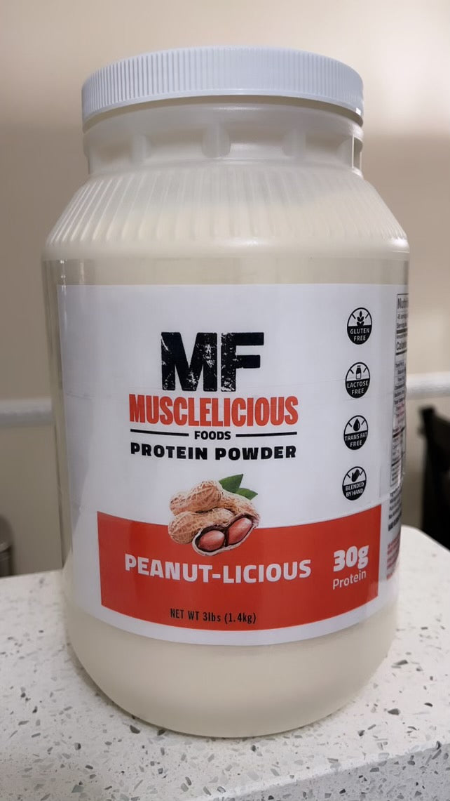 MF Peanutlicious Protein Powder (3 Pounds)