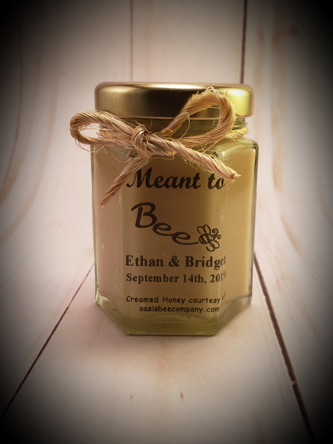 Personalized Honey Jar Favors - Wedding, Baby, Anniversary, Birthday