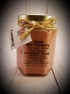 Flavored Raw Wildflower Creamed Honey