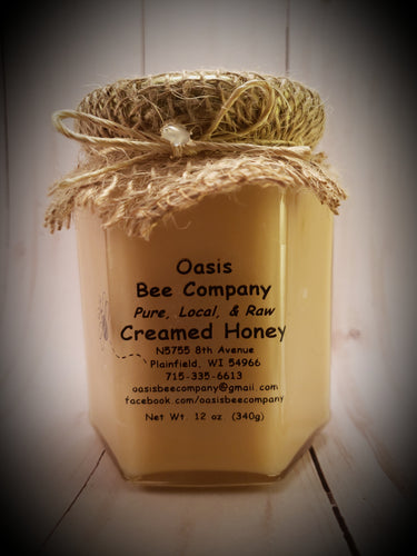 Plain Raw Wildflower Creamed Honey