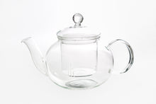 Load image into Gallery viewer, Glass teapot with glass filter