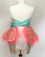 Flamingo Beach - Couture Aprons