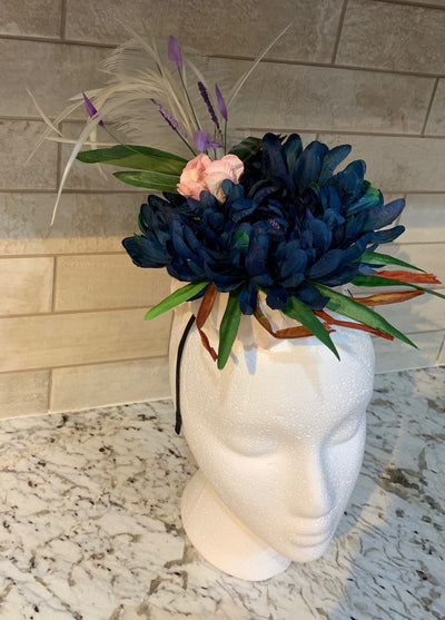 Mini Flower Fascinator - Couture Aprons