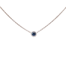 Load image into Gallery viewer, something blue sapphire pendant