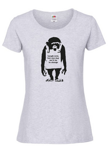 Official Women's T-Shirt - 'Laugh now, but one day we'll be in charge'