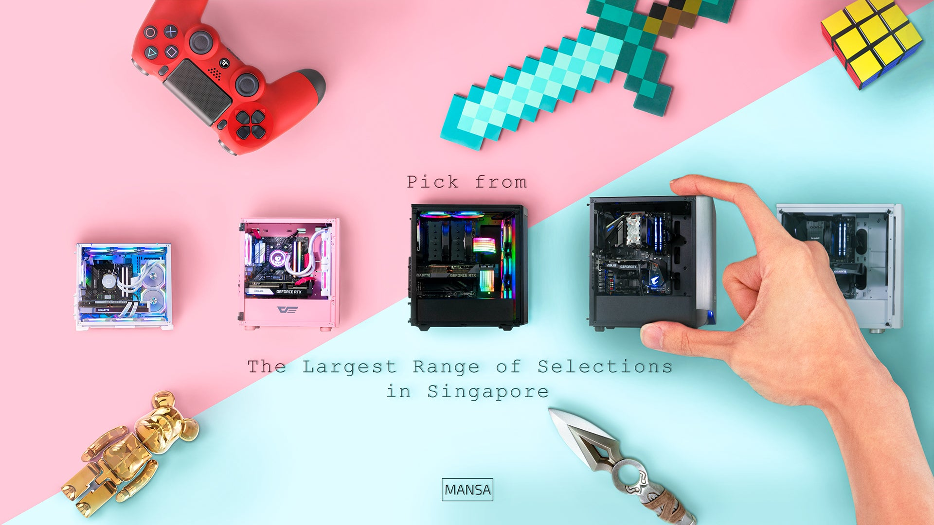 Pick form the largest range of selections in Singapore