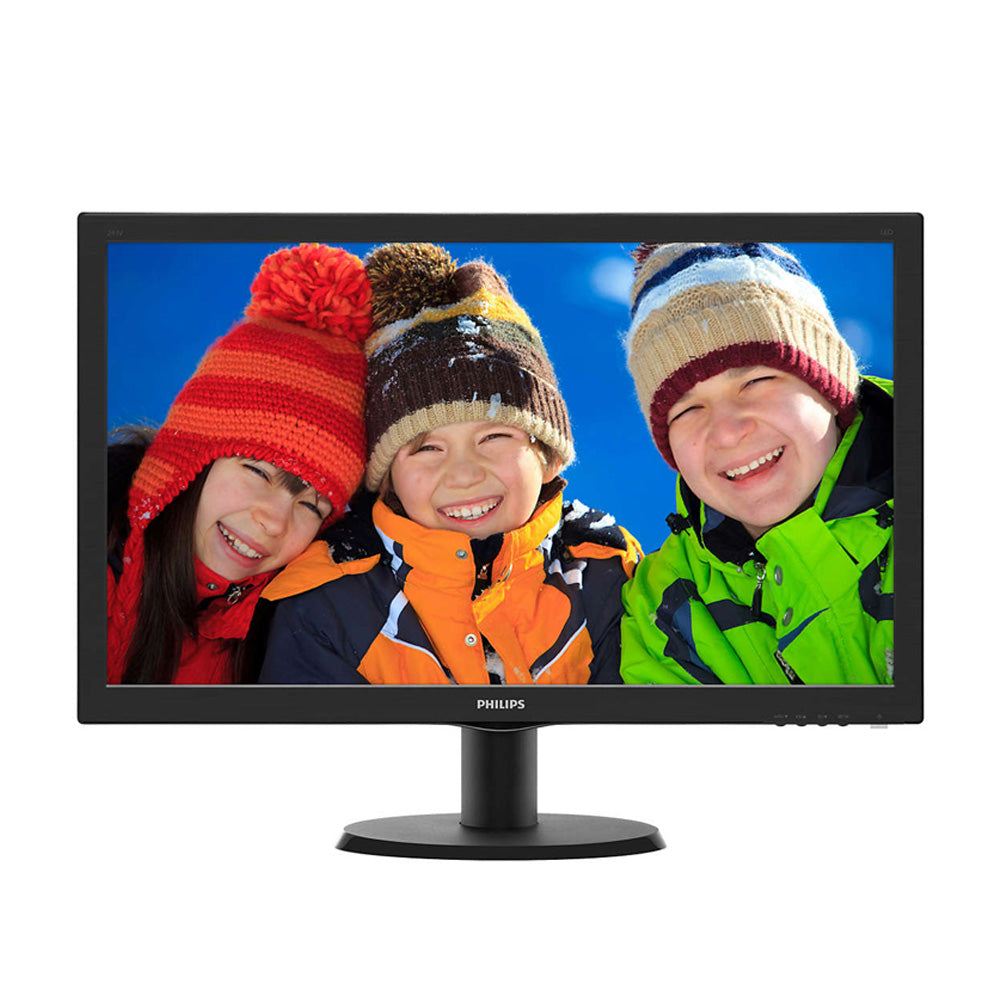 "Philips 24"" 243V5 60 Hz VA LCD Monitor"