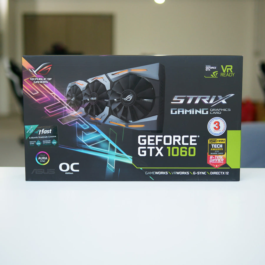 Asus GTX 1060 6 GB Strix