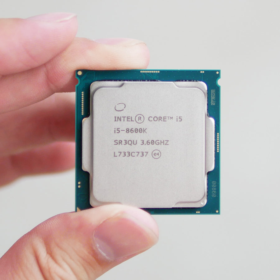 Intel Coffee Lake i5-8600K