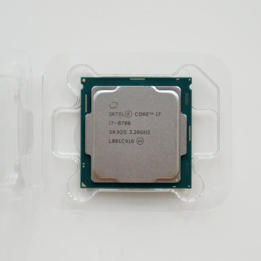 Intel Coffee Lake i7-8700