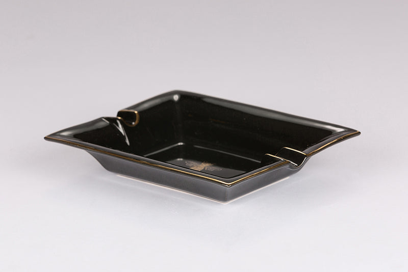 Large Trinket Tray / Ashtray - Black Bee