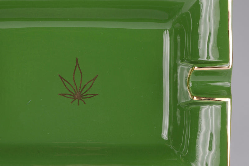 Large Trinket Tray / Ashtray - Leaf-Casacarta-CASACARTA