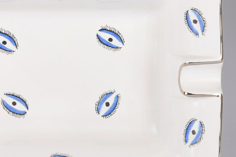 Large Trinket Tray / Ashtray - Evil Eye