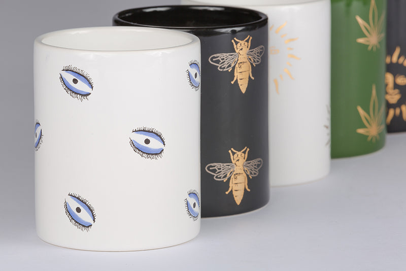 Candle Set - Evil Eye-Casacarta-CASACARTA