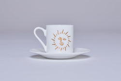 Espresso Cup & Saucer (Set Of 2) - Sun