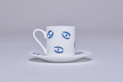 Espresso Cup & Saucer (Set Of 2) - Eye
