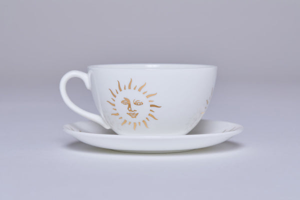 Teacup & Saucer (Set Of 2)- Sun