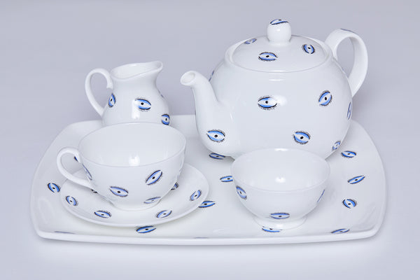 Teacup & Saucer (Set Of 2) - Eye