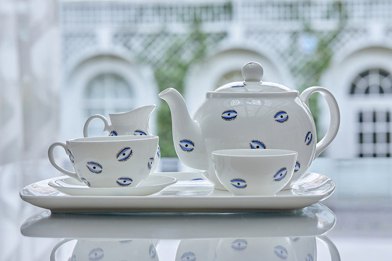 Tea Set - Evil Eye
