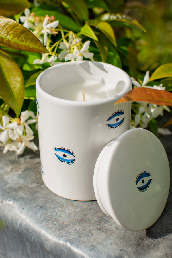 Small Candle - Evil Eye-Casacarta-CASACARTA