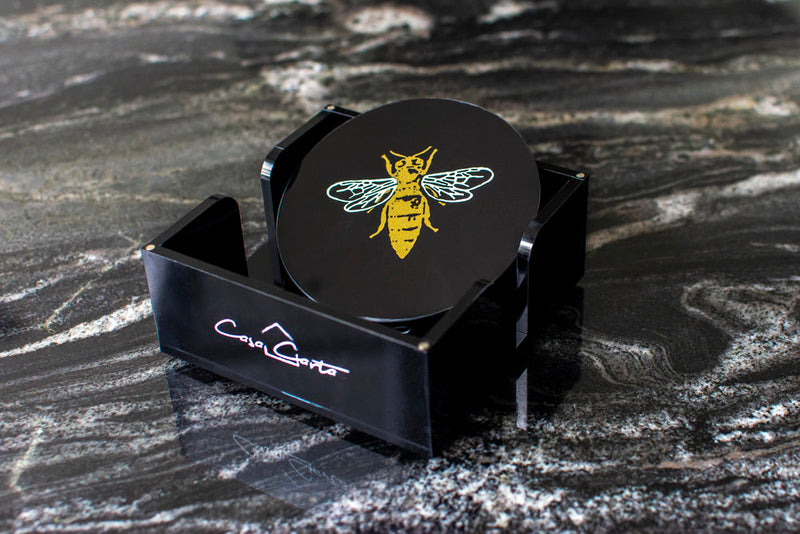 Coasters (Set Of 4) - Bee