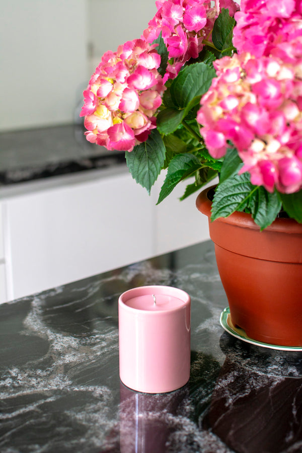 Small candle - Pretty in Pink