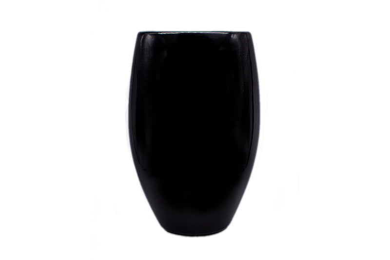 Oval Vase - Black Lemon