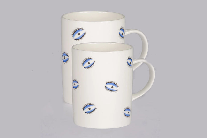 Mug (Set of 2) - Evil Eye