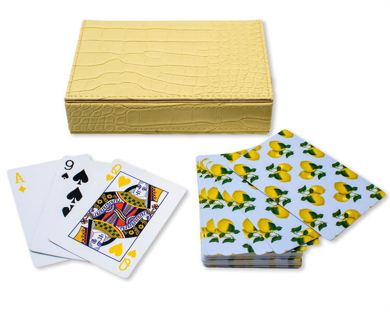 Playing Cards - Capri Lemons