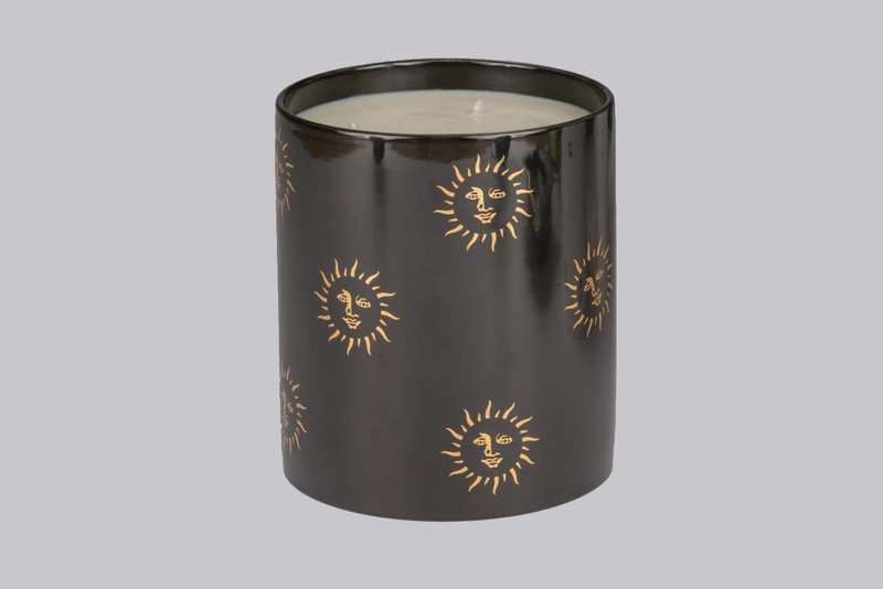 Extra Large Candle - Black Sun