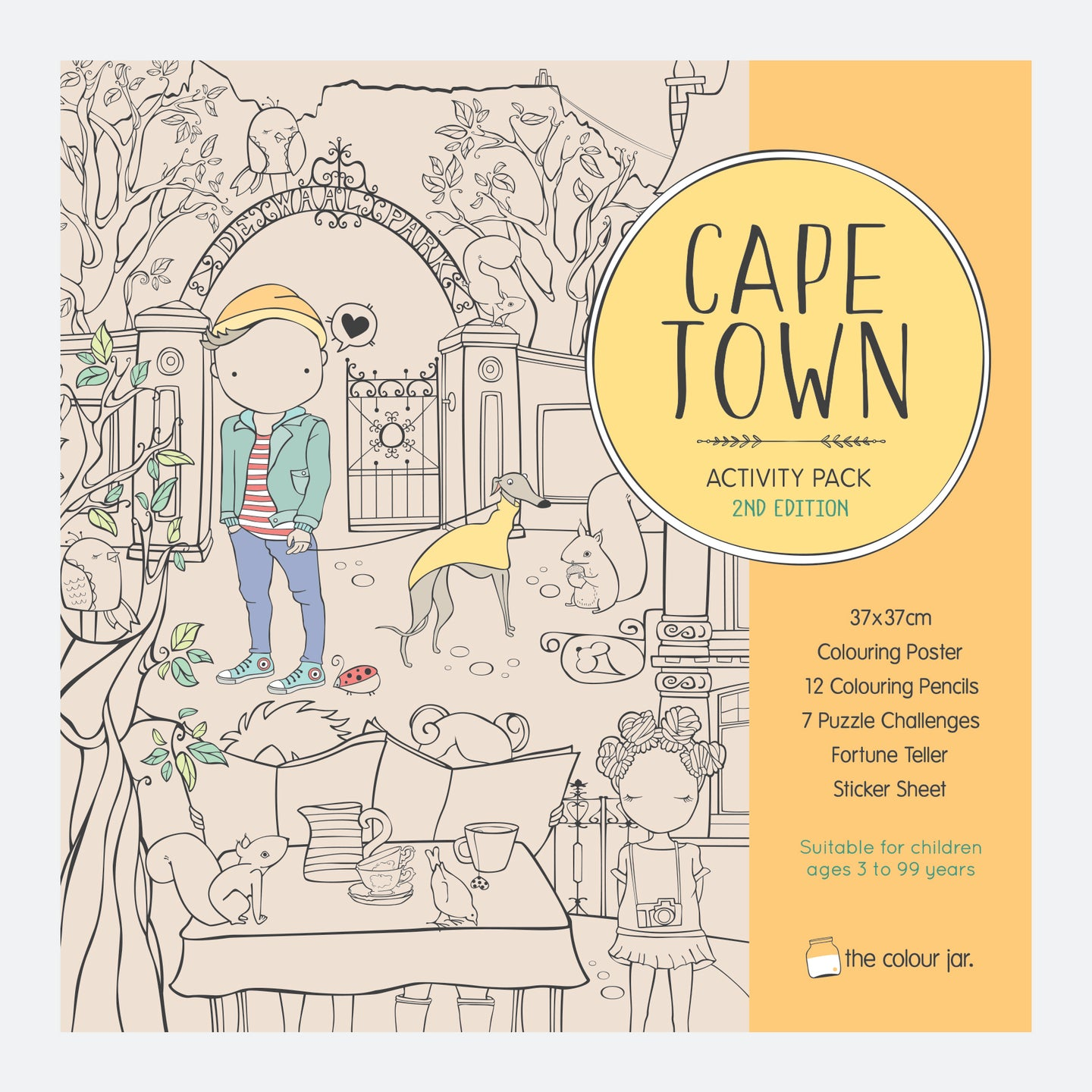 Cape Town Activity Pack