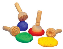 Wooden Play Dough Stampers