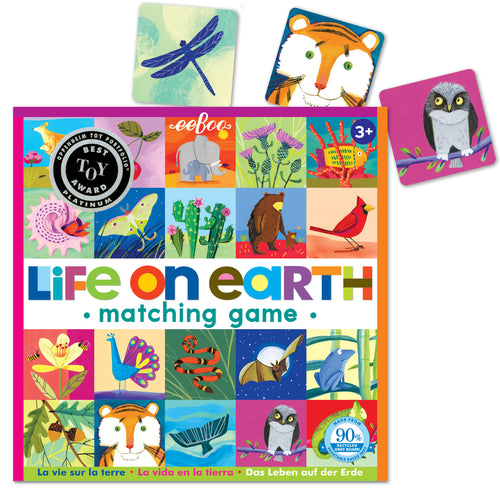 Life On Earth Matching Game