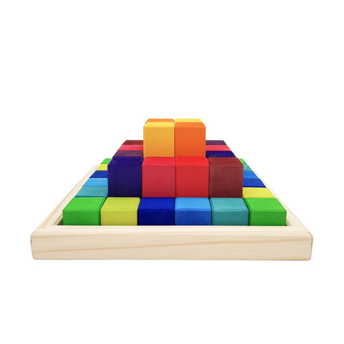 Pyramid Blocks - Bright 36's