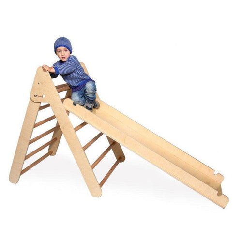 Large Climbing Frame/Pikler Triangle and Slide/Ramp