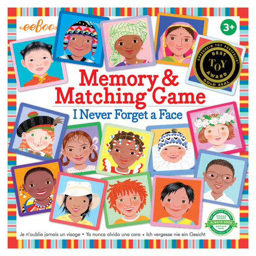 I Never Forget a Face Matching and Memory Game