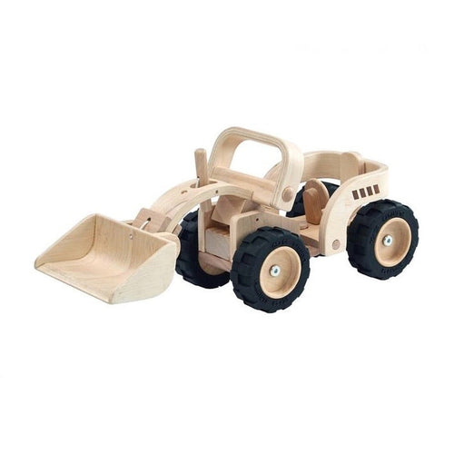 Wooden Mechanical Bulldozer