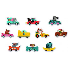 Puzzle Duo - Racing Cars