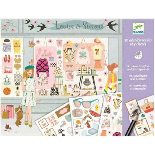 Fashionista Craft Transfers
