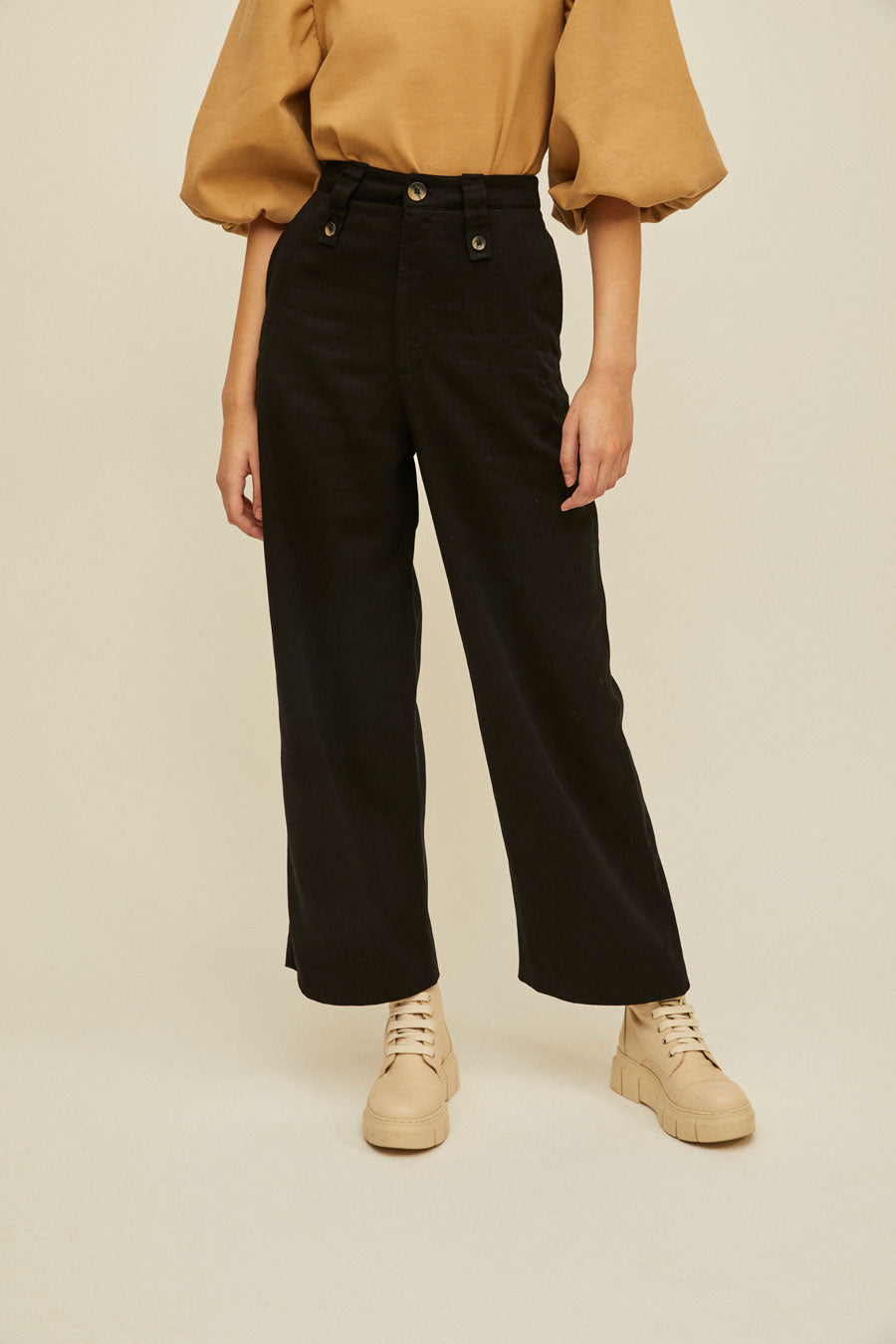 FILIPA - High Waisted Pants