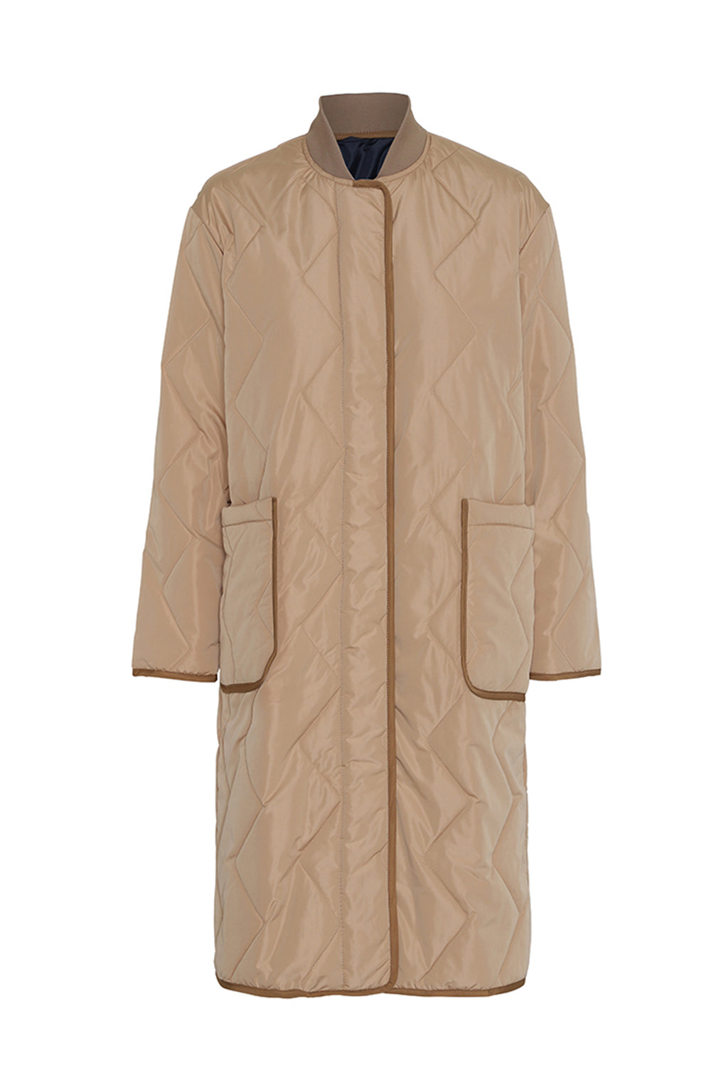 ATLEY - Quilted Longline Coat