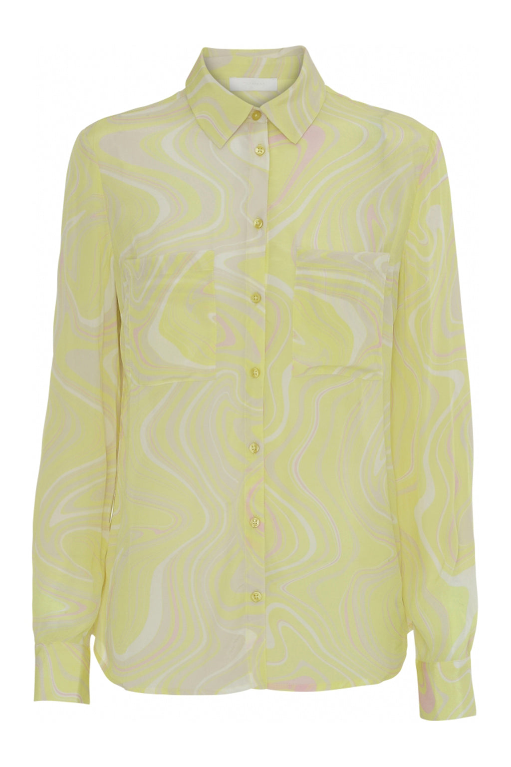 GWEN - Marble Button-down