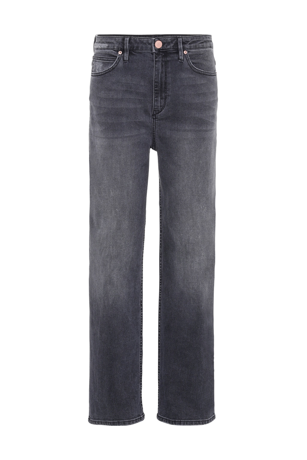 RAVEN - High Waisted Straight Leg Jeans